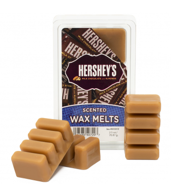 Hershey's Milk Chocolate with Almonds Scented Wax Melts 2.5oz (70.87g) Non Food
