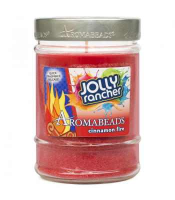 Jolly Rancher Aromabeads Cinnamon Fire Scented Canister Candle 7.25oz (205.5g) Non Food