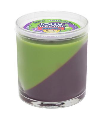 Jolly Rancher Grape & Green Apple Awesome Twosome Scented Candle 9oz (255.1g) Non Food Jolly Rancher