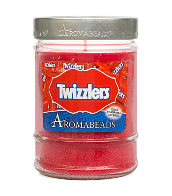 Twizzlers Strawberry Aromabeads Candle 7.25oz (205.5g) Gift Hampers