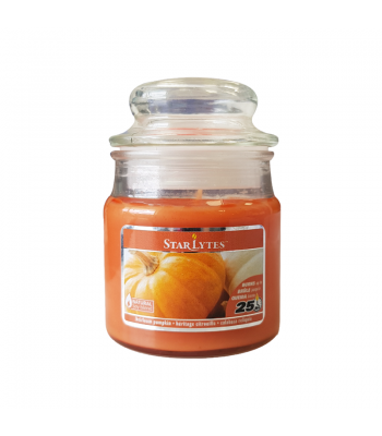 Star Lytes Heirloom Pumpkin Scented Candle 3oz (85g) Food and Groceries
