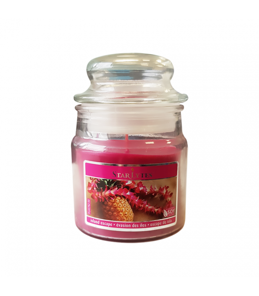 Star Lytes Island Escape Scented Candle 3oz (85g) Food and Groceries