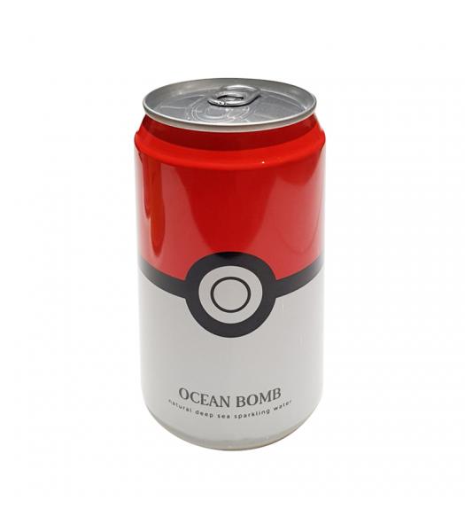 Ocean Bomb Pokemon Pokeball Original Sparkling Water - 12fl.oz (355ml) Soda and Drinks
