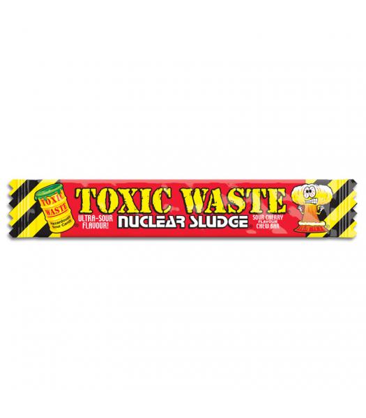 Toxic Waste Nuclear Sludge Chew Bar Sour Cherry 0.7oz (20g) Soft Candy