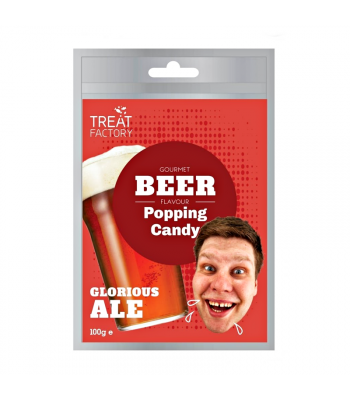 Gourmet Beer Flavour Popping Candy - (100g) Sweets and Candy