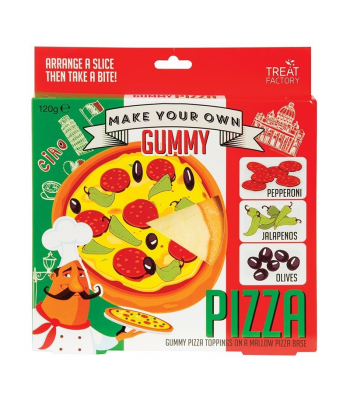 Make Your Own Gummy Pizza - (120g) Sweets and Candy