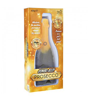 Jumbo Jelly Prosecco Bottle - (400g) Sweets and Candy