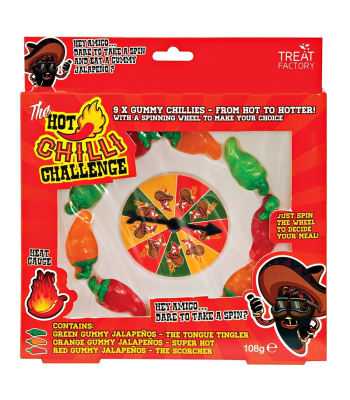 The Hot Chilli Challenge Game - (108g) Sweets and Candy
